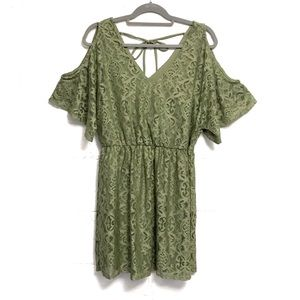 Bailey Blue Lace Dress
